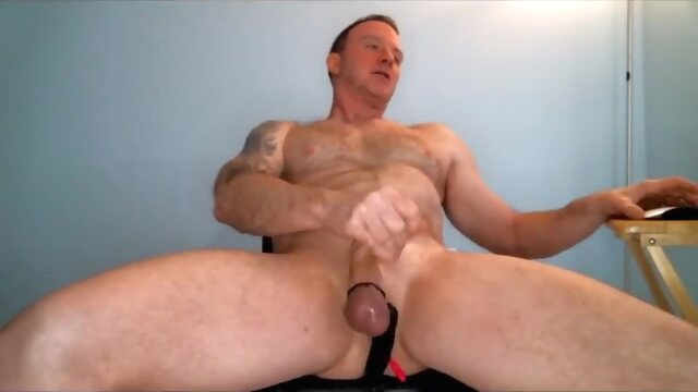 Dad shoots his canon pt.3 gay cum gayxxx