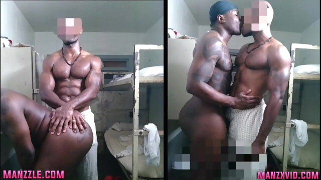 Preview: Teamdreads REAL LIFE muscle prison sex black gayxxx