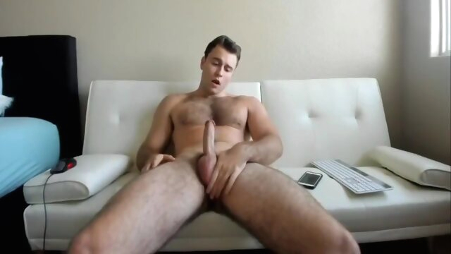 Cam Cum: Hot Stud Unloads On His Chest amateur gayxxx