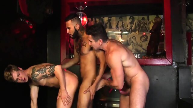 Saddle Up 02 brunette gayxxx